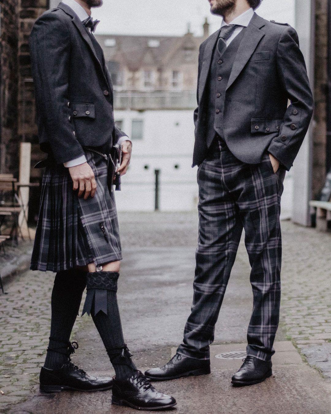"Men's Scottish Kilt Fly Plaid Ramsay Blue Tartan Purled Fringe 48/"" x 48/""  A.Wool"