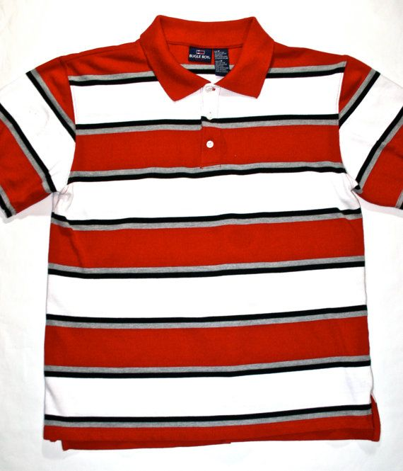 2e006b1c4 Vintage 90s Bugle Boy Polo Shirt available at VintageMensGoods, $26.00