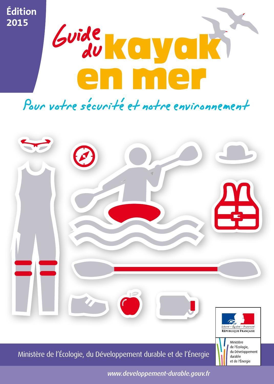 Guide sécurité kayak en mer Kayak, Kayak de mer, Sport