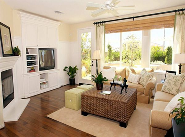 Ideas And Tips For Square Living Rooms Apartment Interior Design
