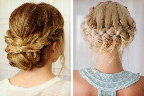 ideas de peinados para las damas de la boda #bodas