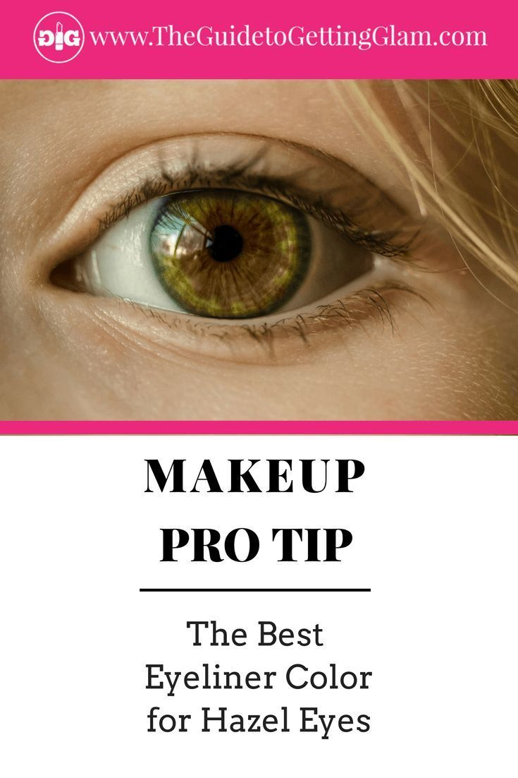 The Best Eyeliner Color For Your Eyes Spring Makeup