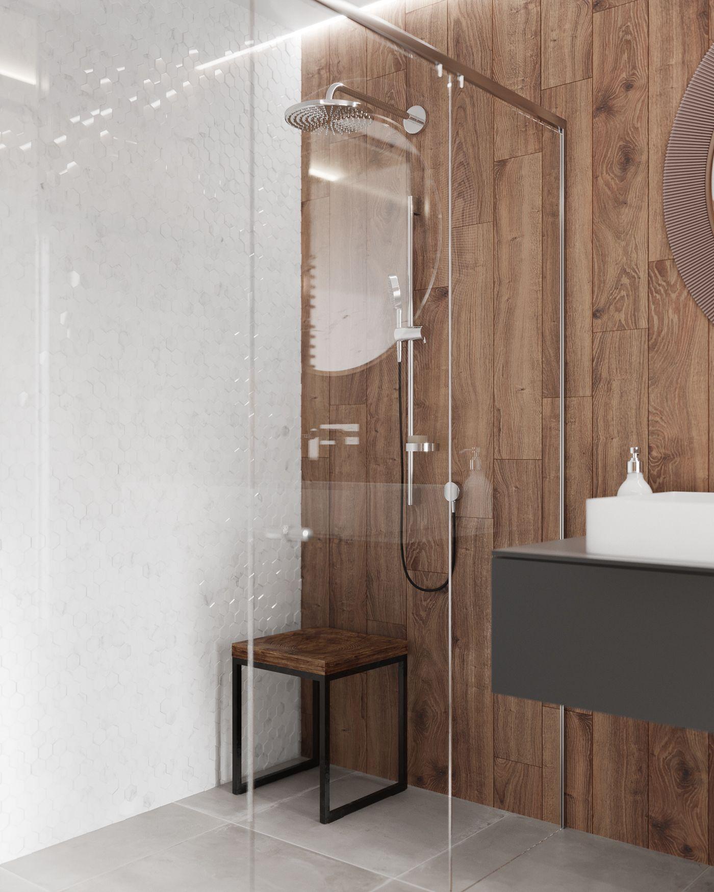 Apartment In Minimalist StyleVisualization: VizLine Studio