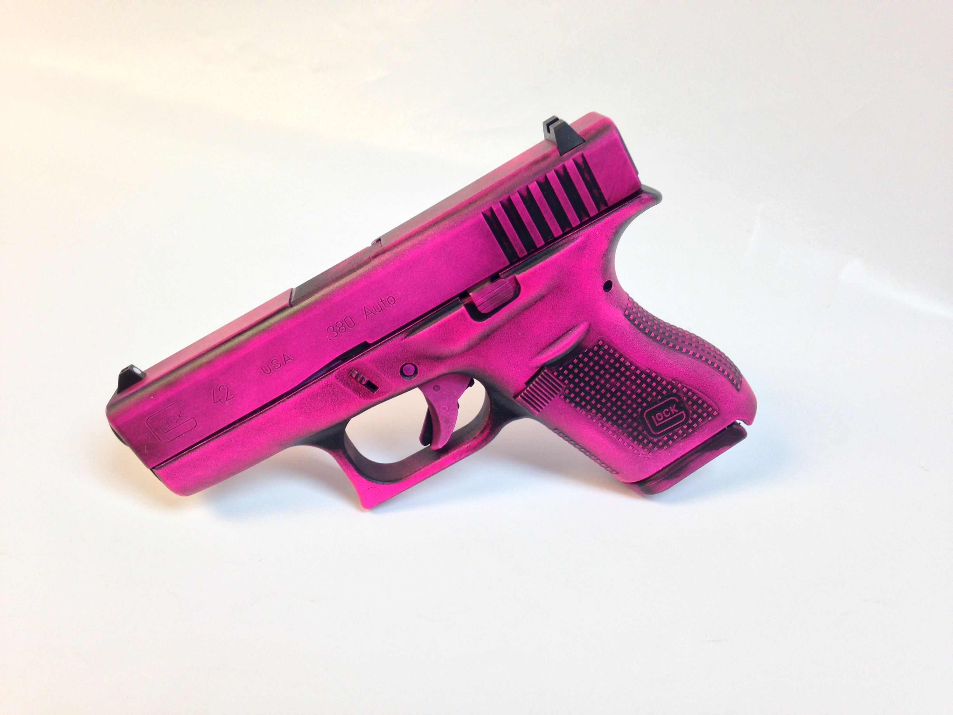 Details about GLOCK 42 Purse Holster PINK RH SUB Creative Conceal ...