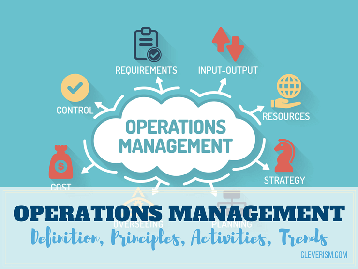 Operations Management Definition, Principles, Activities