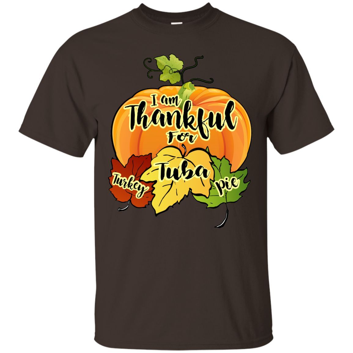 Thanksgiving Tuba T-Shirt