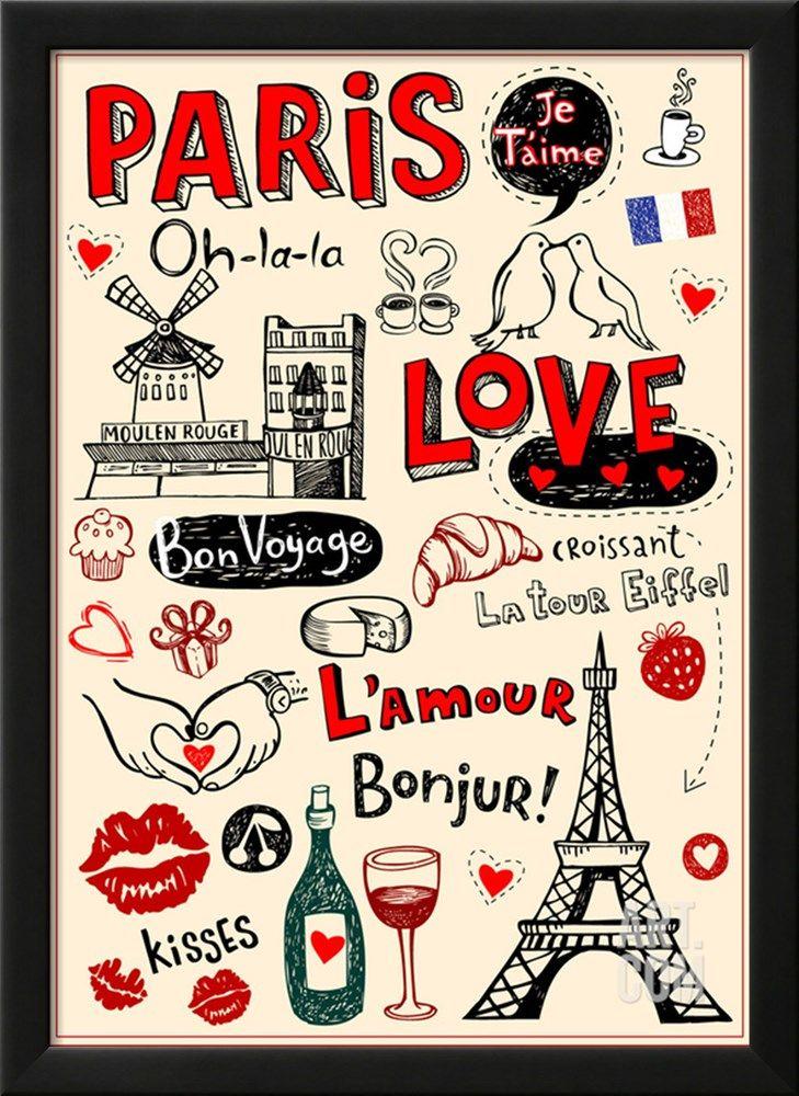Paris - A City Of Love And Romanticism Art Print by Anastasiya ...