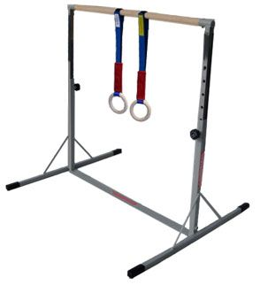 Gymnastics Bars For Home Mini High Bar Kip And Mat