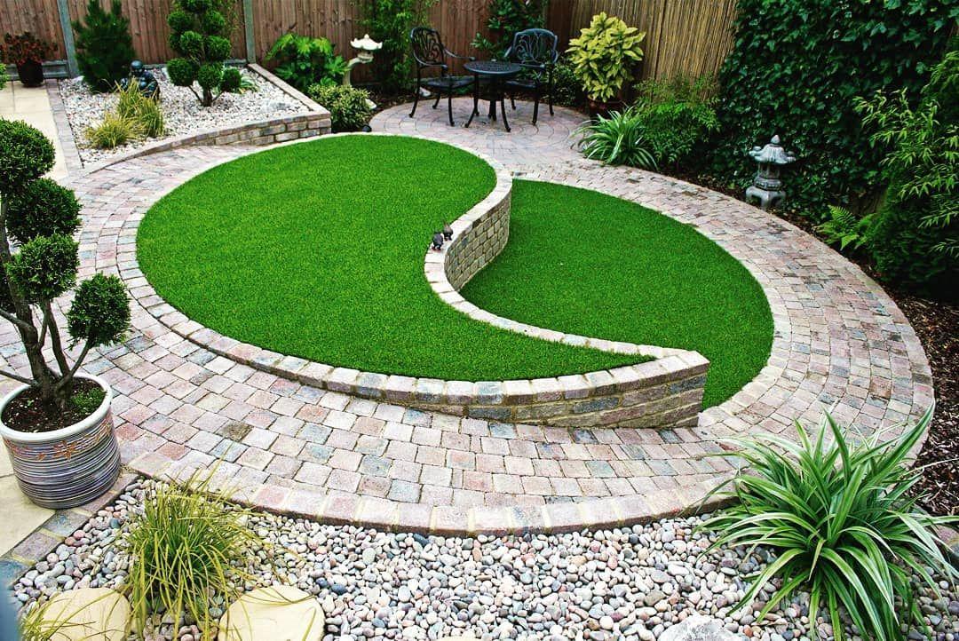 An Example Of Landscaping Design For Small Gardens Kucuk Bahceler Icin Peyzaj Tasarimi Ornegi Bahce Tasarimi Arka Bahce Peyzaj Duzenlemesi Bahce