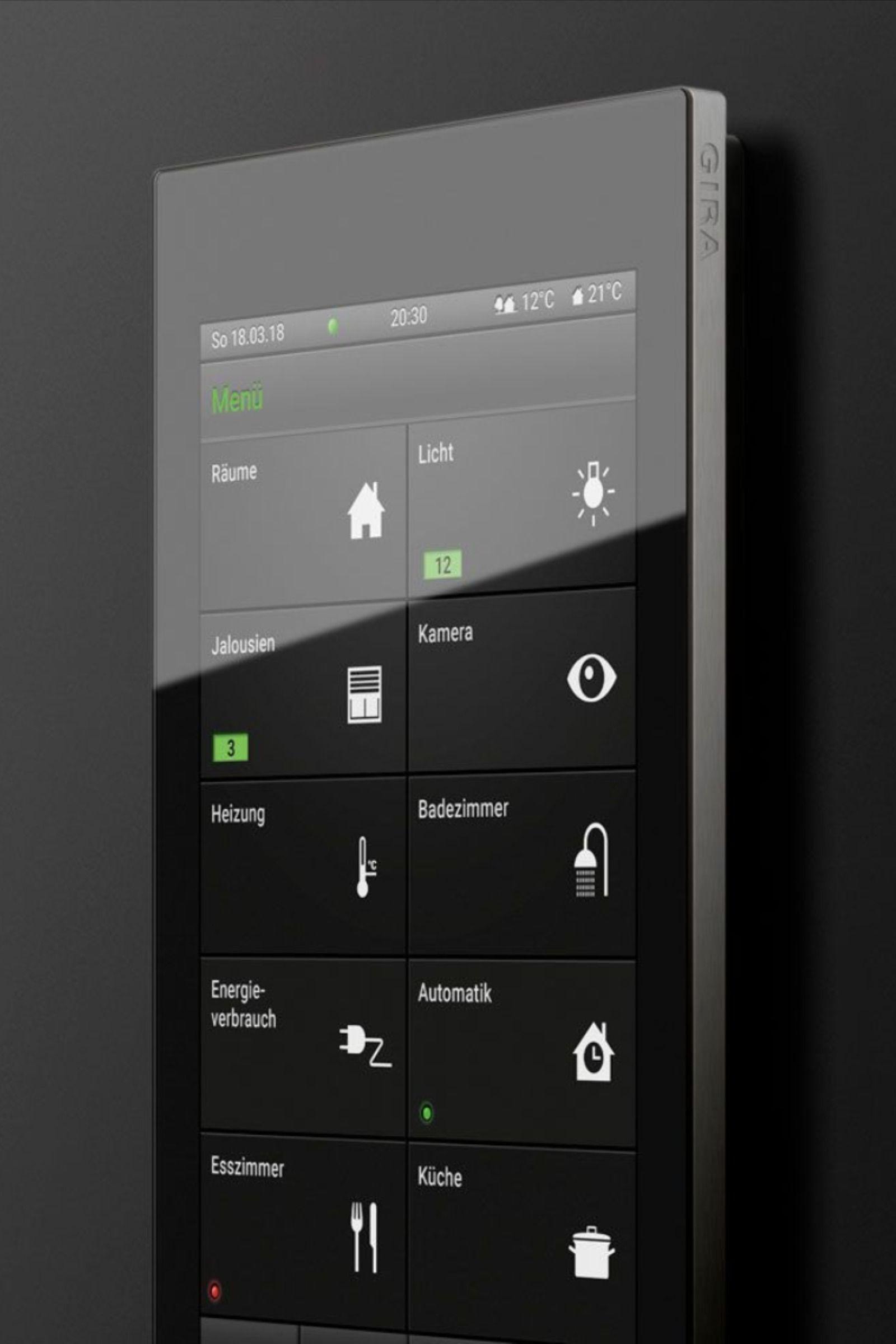 Das Ganze Smart Home Auf Einen Blick Auf Blick Das Einen Ganze Home Ohnedachgestalten Smart In 2020 Intelligentes Haus Haustechnik Haus Modernisieren