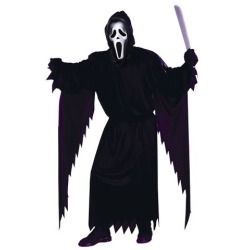 Adult Ghost Face Costume - Scary Halloween Costumes