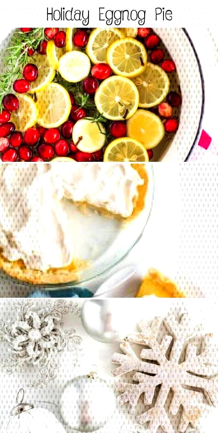 Holiday Eggnog Pie Holiday Eggnog Pie… a new, delicious favorite recipe to surprise family and fr