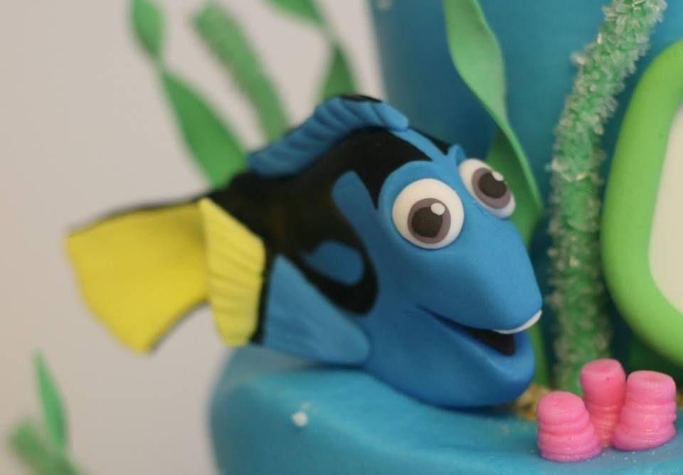 Dori Nemo Cake Topper Kittiskakes Edible Cake Toppers