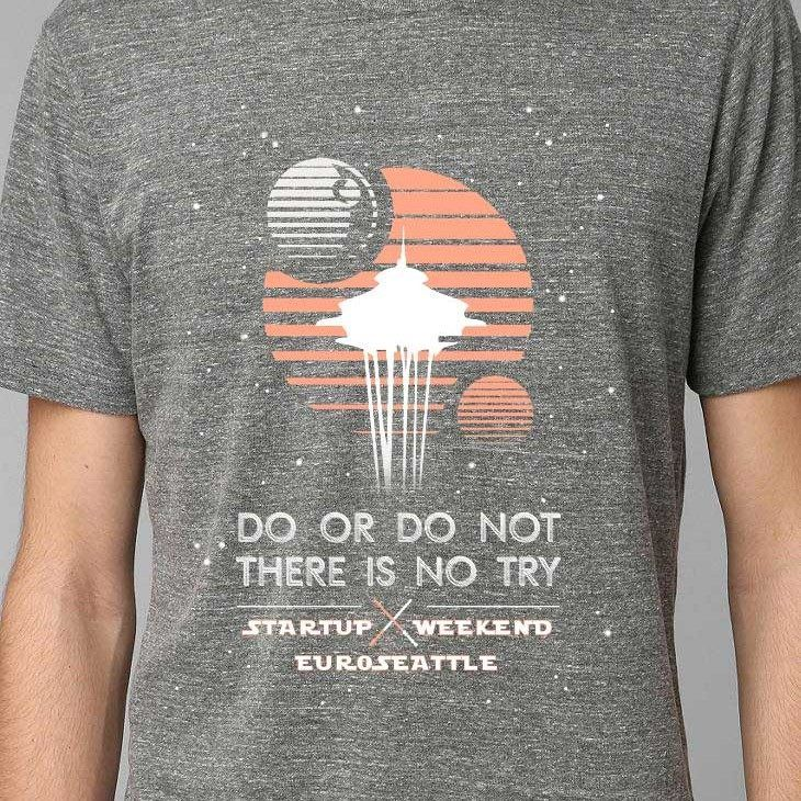 Startup Weekend Seattle....awesome shirt. inspired.