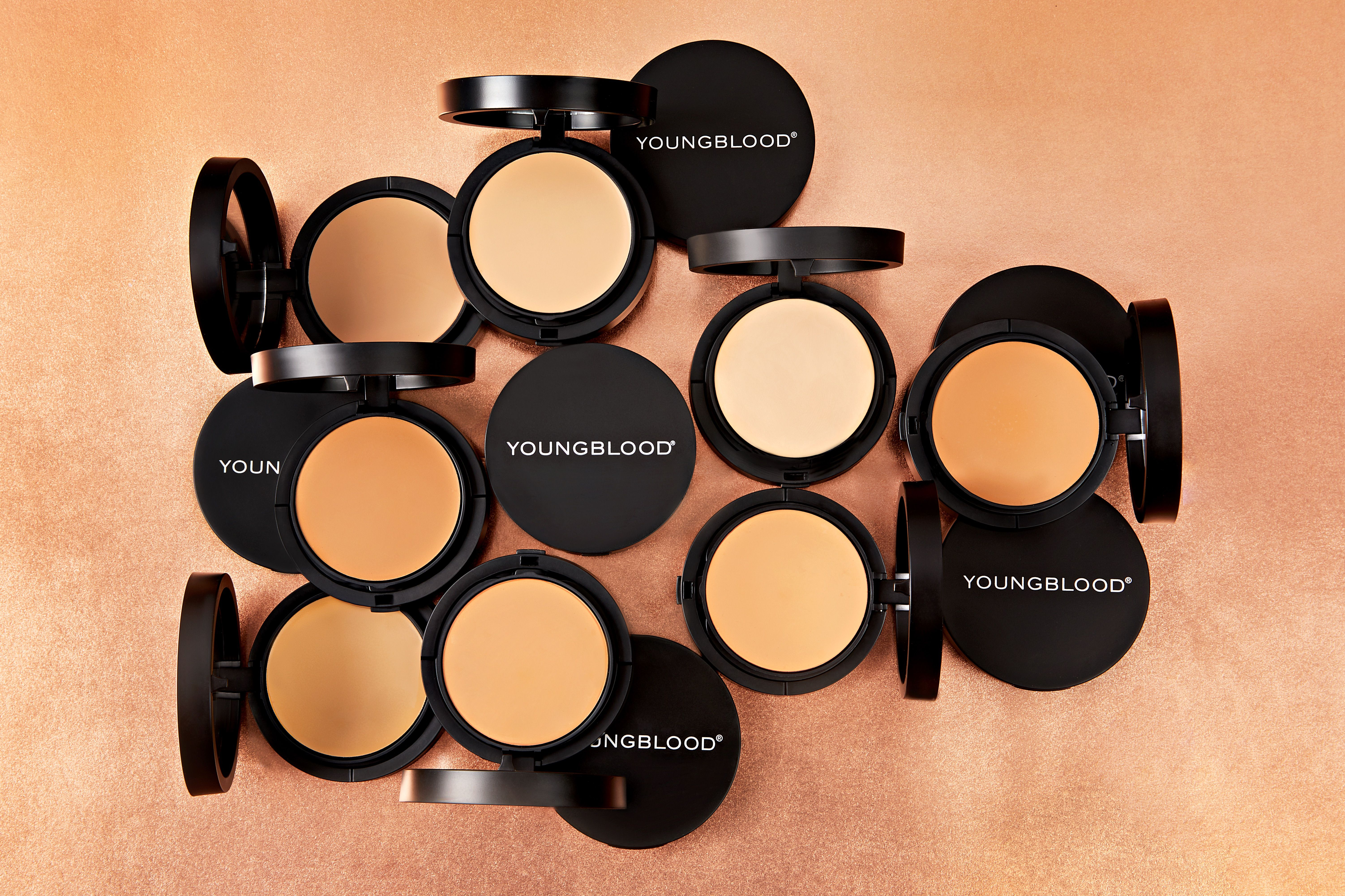 This transformative foundation glides on like a crème and