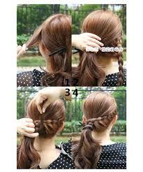 Hasil gambar untuk cara mengepang rambut sendiri  06f37a34c4