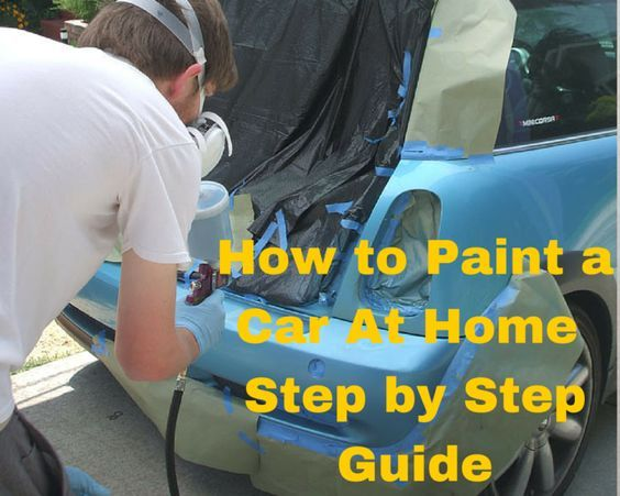 How to spray paint a car how to paint a car at home how to for What are the steps to painting a car