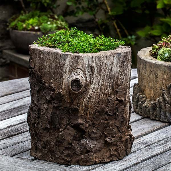 garden plant pots for sale. chestnut tree stump outdoor garden planter p-690 plant pots for sale o