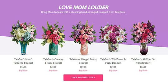 Solid Winner: Flowers for Mother\'s Day
