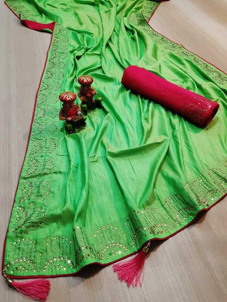 Joya Silk Sari Bollywood Sari Indian Designer Sari Woman ...