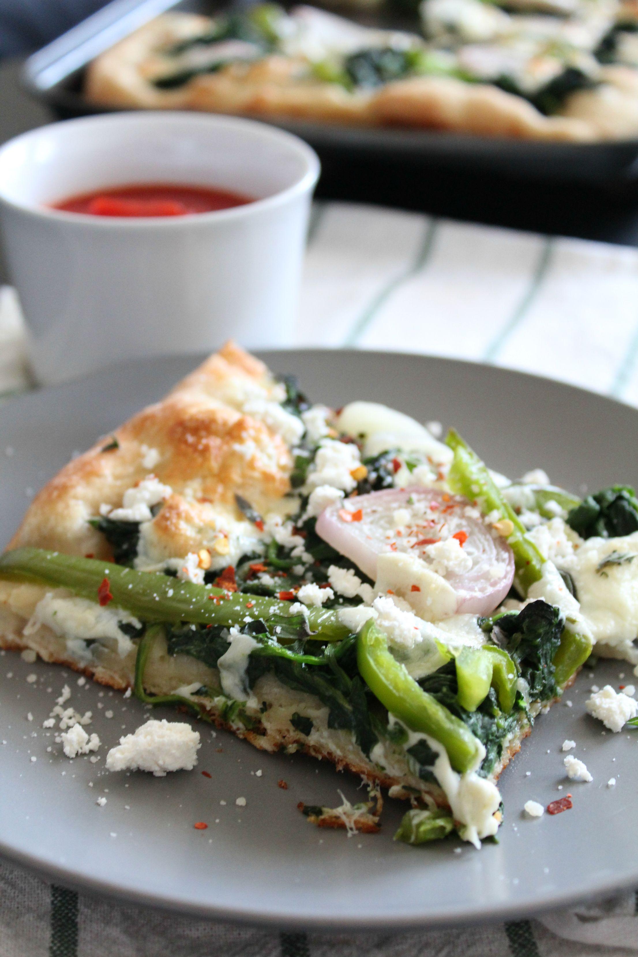 Blue apron spinach pizza - Spinach And Fresh Mozzarella Pizza Ad Blueapron Blueapron