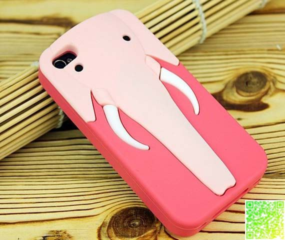 Authentic elephant nose support the iphone 5 by Vintagewatchesmall, $17.99