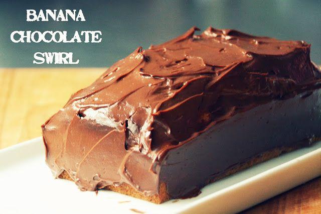 Ich Lebe! Jetzt!: Banana chocolate swirl cake