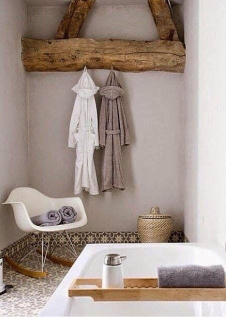 Einfach einzigartig, dieses Fachwerk im Badezimmer #bad #idee - fachwerk wohnzimmer modern