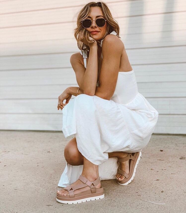 abebfaae6e5 BLAKELY Rose Leather in 2019 | STREET STYLE | Leather sandals ...