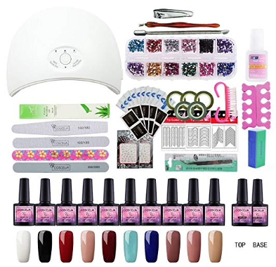 Best Nail Polish In 2020 Reviews And Buying Guide Gel Nail Polish Set Nail Polish Sets Gel Nail Kit