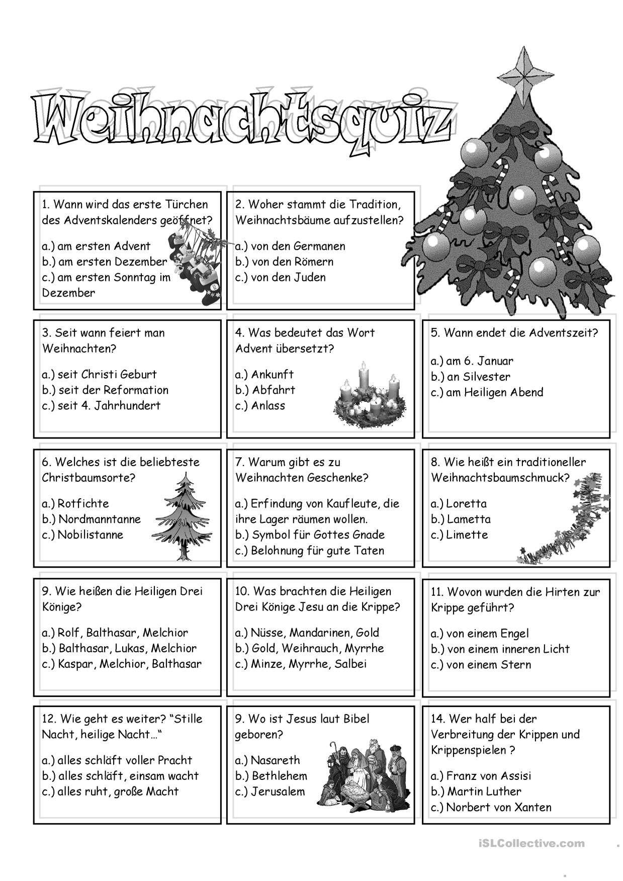 One Click Print Document Weihnachten Ratsel Adventkalender