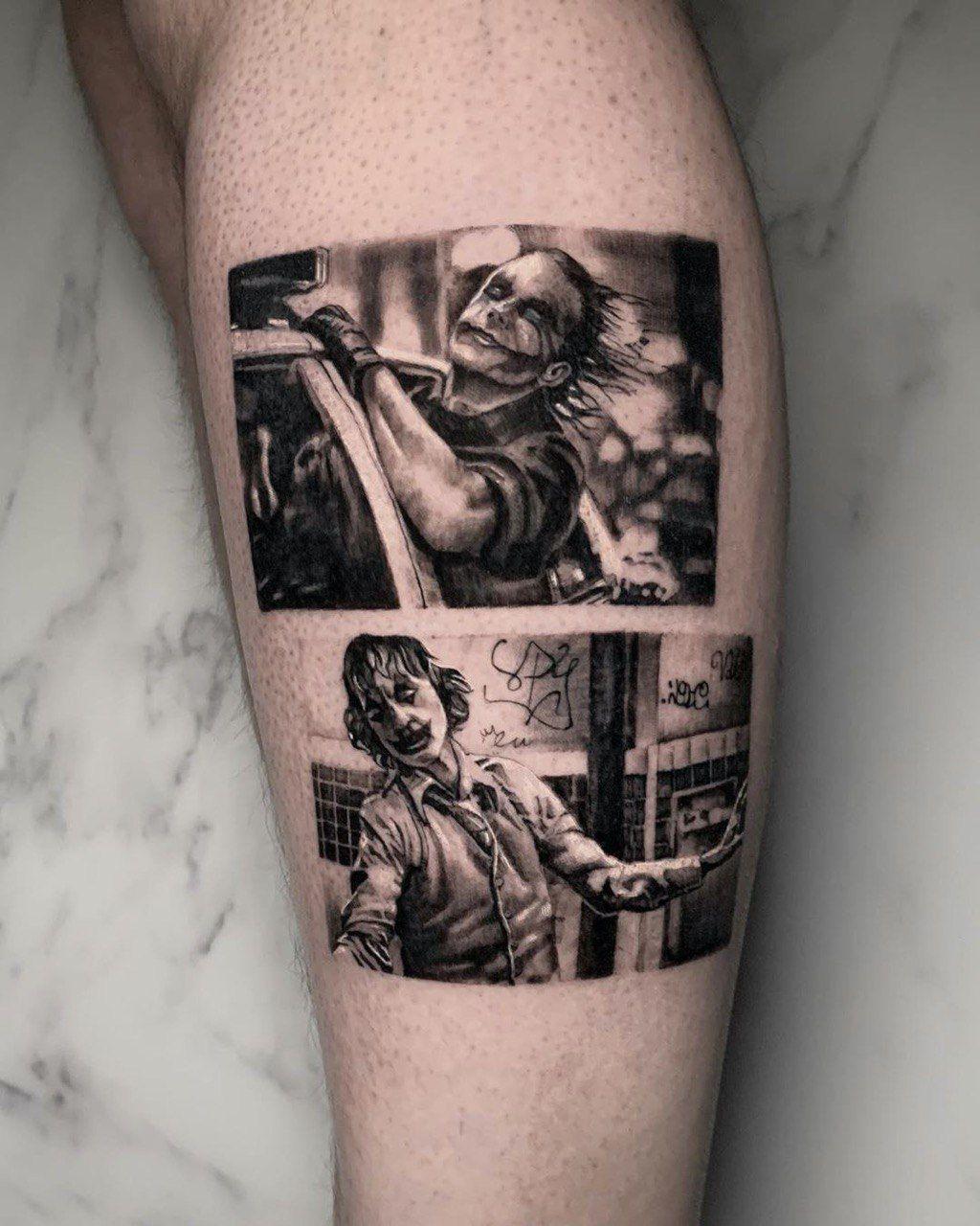 Joker Tattoo By Valentina Valentinaolsen Tattoo From London Uk In 2020 Joker Tattoo Joker Tattoo Design Tattoos