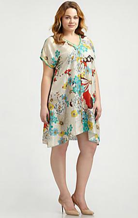 piniful plus size tunic dresses (17) #plussizefashion | plus