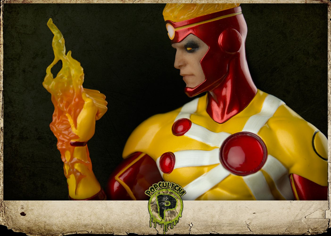"""DC Comics - DC Icons - Firestorm 12"""" Statue The Nuclear Man flies off the comic book page and materialises in your home with this stunning statue based on his appearance in DC Comics - The New 52. Add Ronnie Raymond to your DC Icons collection today. Brought to you by Popcultcha, Australia's largest and most comprehensive New 52 online store. Clickhereto see the full range of our merchandise."""