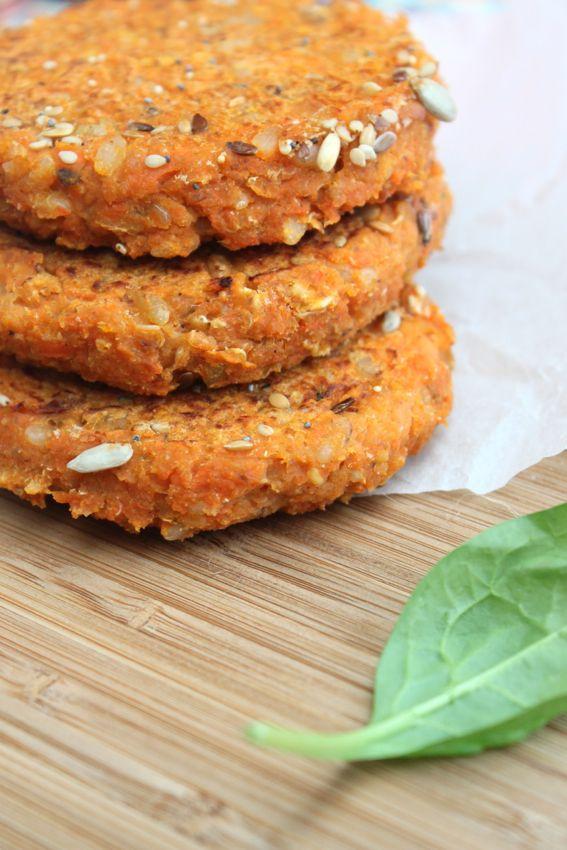 Steak aux carottes, chou blanc, riz complet, haricots blancs à la tomate & flocons de quinoa
