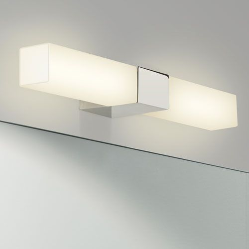 Padova Ip44 Led Square Bathroom Wall Light 1143004 7028