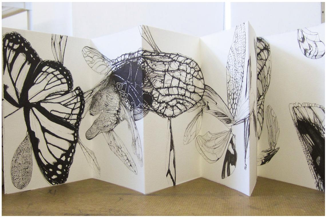 University Of Toledo Student Accordion Fold Book Art Art Blog Book Art