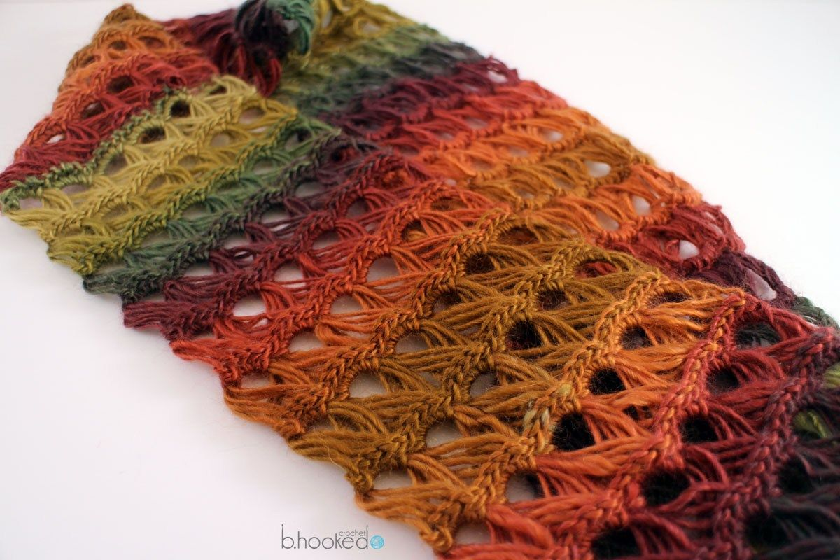 Hairpin Lace Infinity Scarf: Free Pattern and Video Tutorial ...