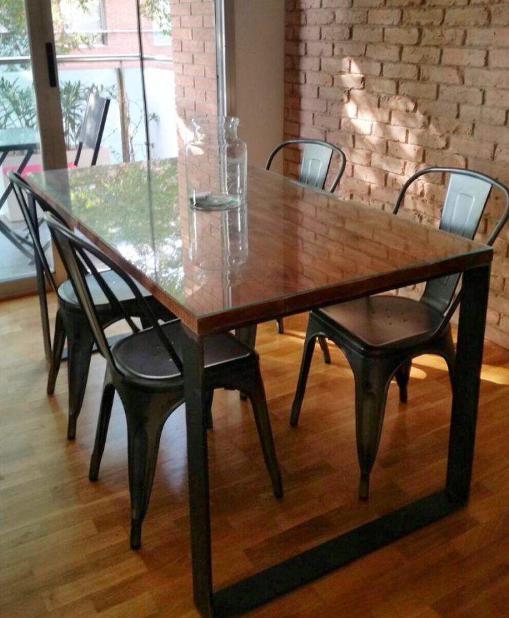 Fabricaci n de muebles industriales vintage a medida for Mesas industriales vintage