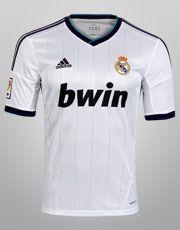 Netshoes - Camisa Adidas Real Madrid Home 12/13 s/nº
