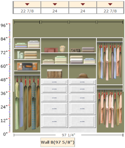 EasyClosets Organizing Solution   eliminate that bulky dresser with a closet  organizer. EasyClosets Organizing Solution   eliminate that bulky dresser