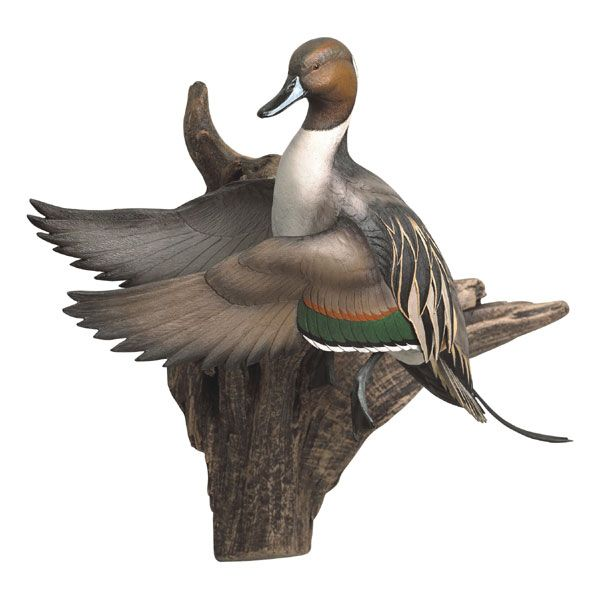 Pintail flying wall mount western decor cabin