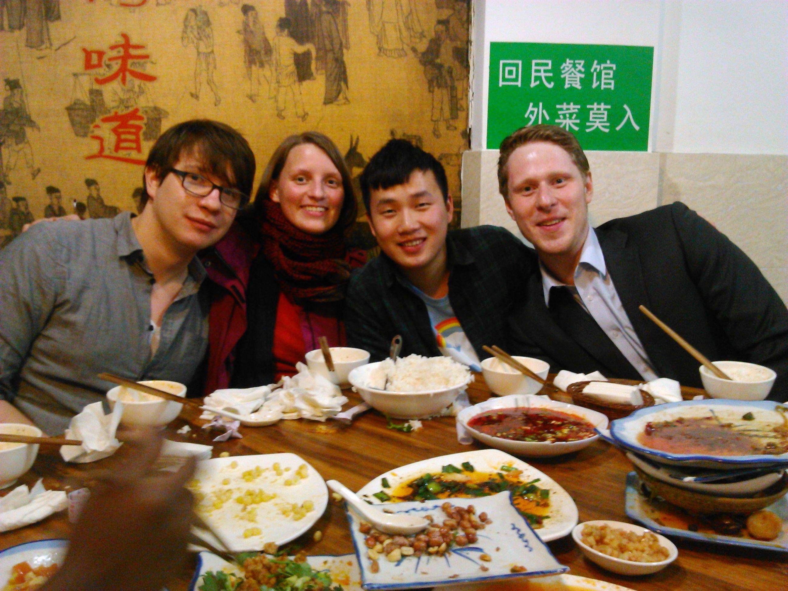 Chengdu Muslim Restaurant Yuexiangcun Beef Restaurant Tours China Sichuan Province Chengdu Synotrip