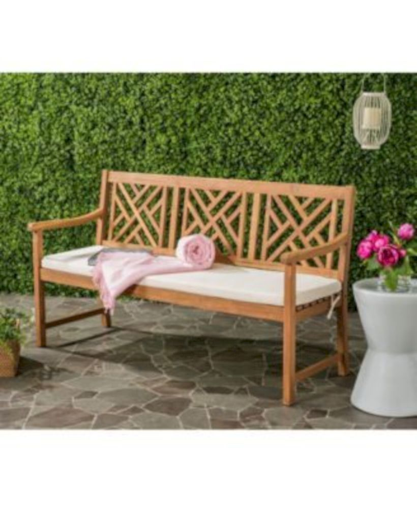 41 Teak Garden Benches Ideas for Your Outdoor | Furniture ideas ...