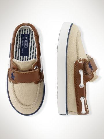 Ralph Lauren baby boat shoe