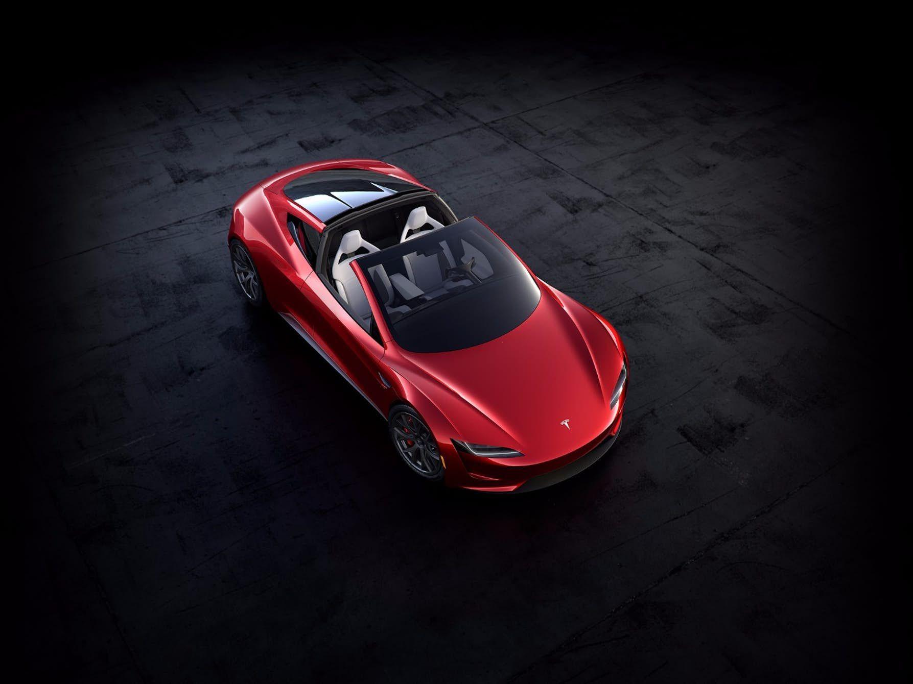 Tesla reveals insanely fast nextgen Roadster Tesla