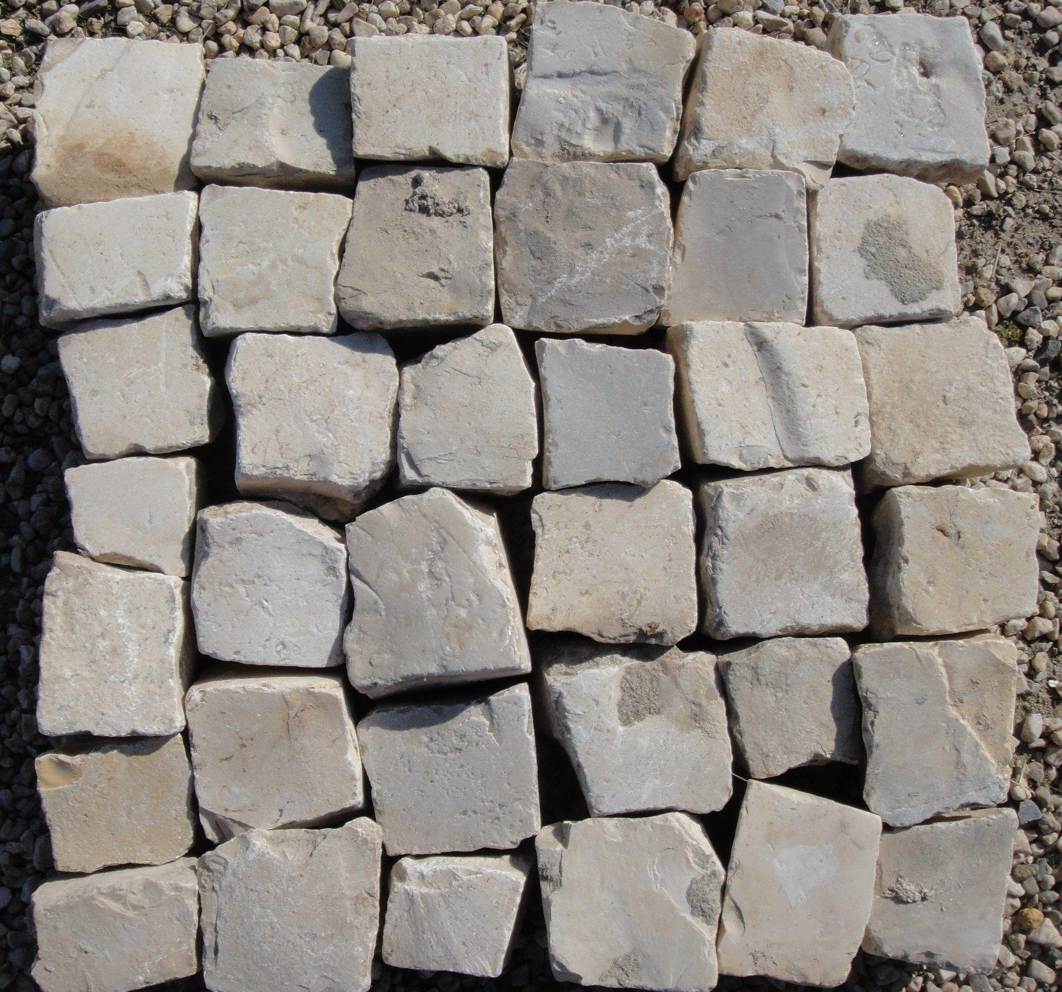 Adoquin piedra caliza 5x5 en 2019 adoquines suelos y patios - Adoquin de piedra ...