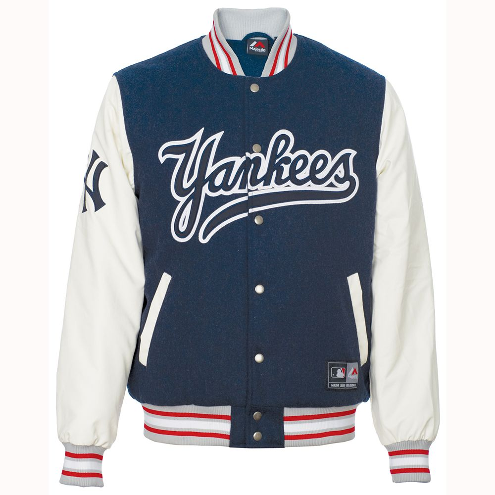 Mlb New York Yankees Beecroft Letterman Jacket Jackets Men Fashion Preppy Men Yankees Outfit