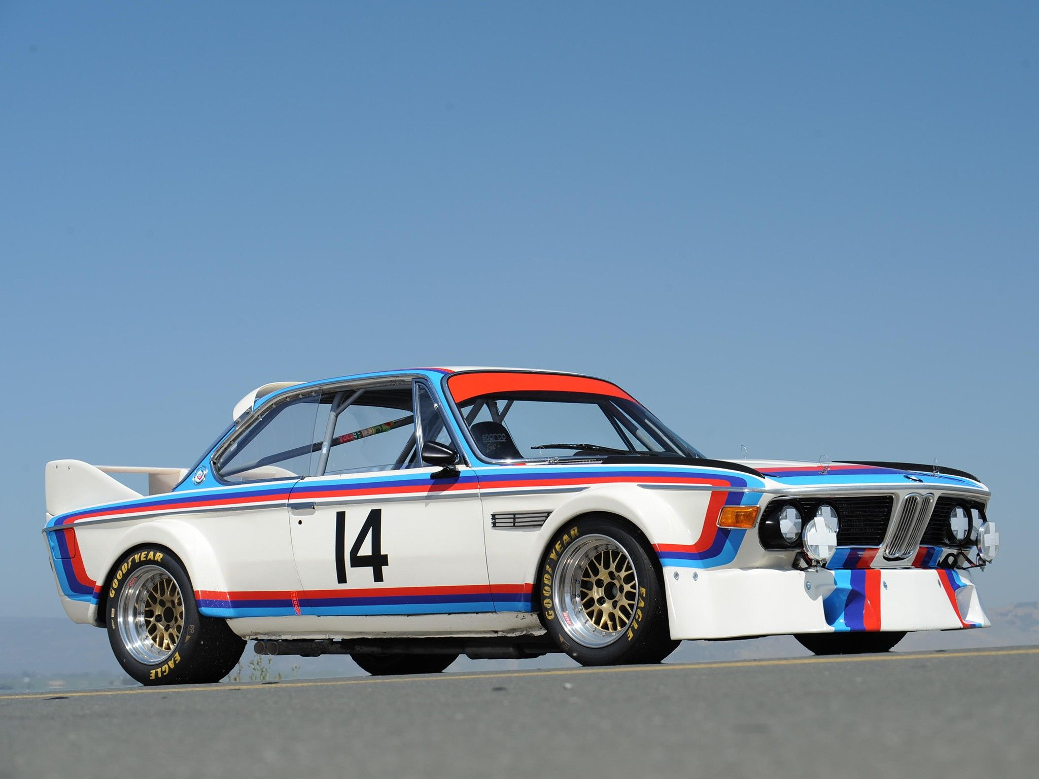 Bmw 3 0 csl group 2 competition coupe 1973 1975