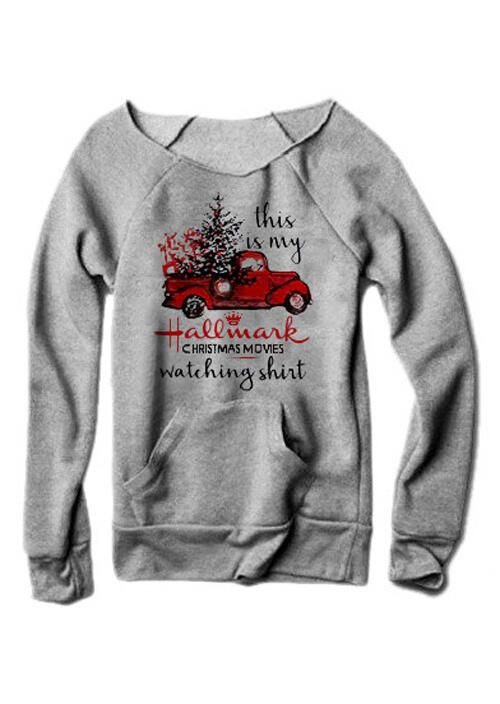 Watching Hallmark Movies Christmas Horse This is My Hallmark Christmas Movies Long Shirt
